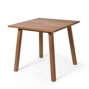 Skargaarden Oxnö Pöytä Tiikki 80x80 Cm