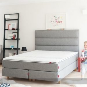 Sleepwell Red Continental Jenkkisänky Medium 160x200 Cm