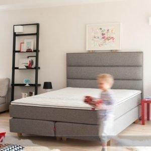 Sleepwell Red Continental Sänky Hard 160x200 Cm