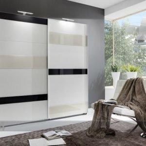 Sm Vaatekaappi Liukuovilla Mondrian 180 Cm