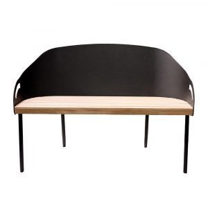 Smd Design Brunnsviken Lounge Sohva Harmaa / Tammi