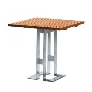 Smd Design Paus Pöytä Öljytty Tammi 80x80 Cm