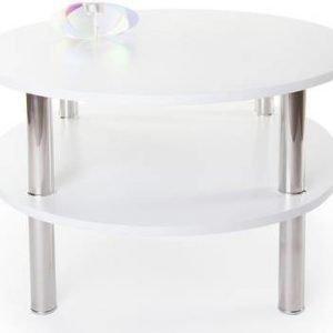 Sohvapöytä Bianca Ø 80 cm valkoinen