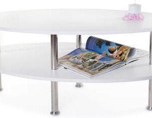 Sohvapöytä Bianca 120x52x60 cm valkoinen