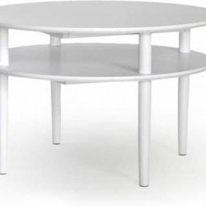 Sohvapöytä Greta Ø 80 cm valkoinen