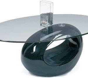Sohvapöytä Iiris 43x65x115 cm musta