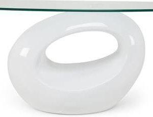 Sohvapöytä Iiris 43x65x115 cm valkoinen