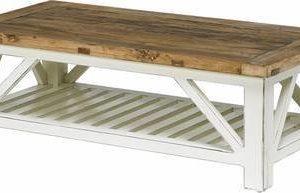Sohvapöytä Iivari 120x60 cm mänty/valkoinen