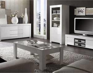 Sohvapöytä Massima 122/65cm valkoinen