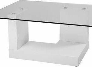 Sohvapöytä Oscar 45x80x100 cm valkoinen