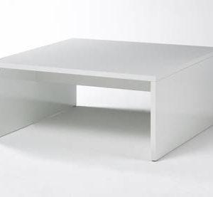 Sohvapöytä Pito 36x81x81 cm valkoinen