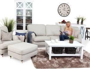 Sohvaryhmä Anita Loisto kaareva sohva 4 ist beige