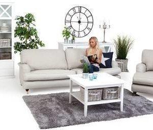 Sohvaryhmä Anita Loisto suora sohva + divaanilepotuoli 4 ist beige