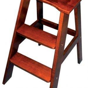 Stepper Tikastuoli Antiikkitammi