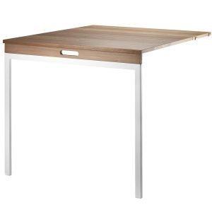 String Klaffipöytä Pähkinä Valkoinen