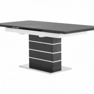 Sunne Jatkettava Pöytä 140 Musta/Valkoinen