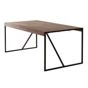 Sveg Ruokapöytä 90x190 Cm Ruskea
