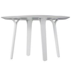 Swedese Divido Pöytä Pyöreä Valkoinen