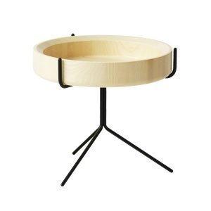 Swedese Drum Pöytä Luonnonvärinen / Musta 36 Cm