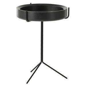 Swedese Drum Pöytä Luonnonvärinen / Musta 56 Cm
