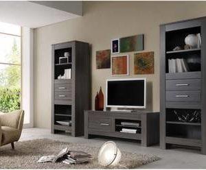 TV-taso Clarissa 140x55 cm harmaa