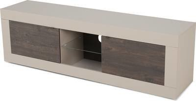 TV-taso Moderni 56x181x43 cm leveä hiekka/wenge