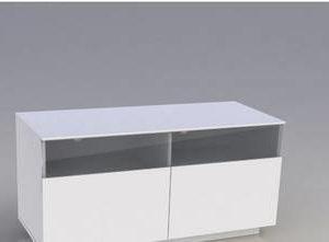 TV-taso Selma 55x45x100 cm valkoinen