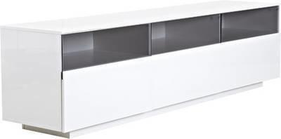 TV-taso Selma 55x45x200 cm valkoinen
