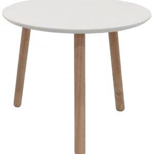 Teo Sivupöytä Valkoinen