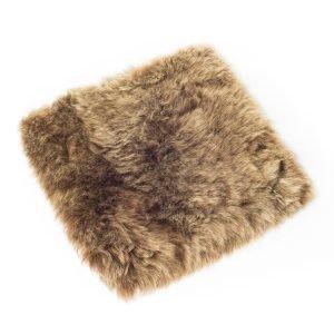 The Organic Sheep Longhair Stolpute Lampaantalja Ruskea