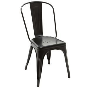 Tolix Tuoli A Musta