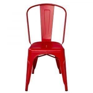 Tolix Tuoli A Punainen / Matta