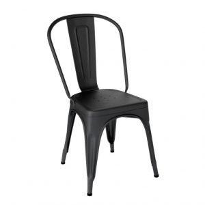 Tolix Tuoli A Ruostumaton Teräs / Musta / Matta
