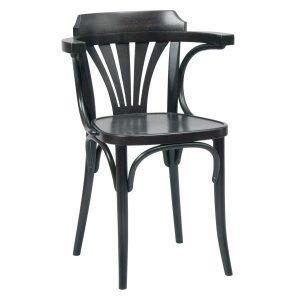 Ton No 24 Tuoli Musta