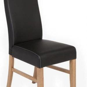 Tuoli Ida 39x56x99 cm tammi/PU