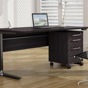 Tvilum Kirjoituspöytä+Laatikosto Prima Sähköisellä Korkeudensäädöllä