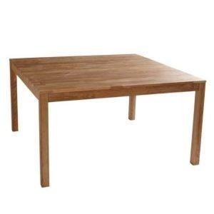 Vallda Ruokapöytä 140x140 Cm Tammiväri
