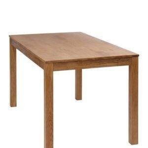 Vallda Ruokapöytä 80x140 Cm Tammiväri