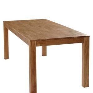 Vallda Ruokapöytä 85x200 Cm Tammiväri