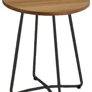 Verdahl 1 Lamppupöytä Pähkinä / Musta