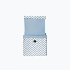 Vinter & Bloom Säilytyslaatikot 2-Pakkaus Sininen
