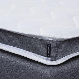 Visco Deluxe Sijauspatja Valkoinen 180x200 Cm