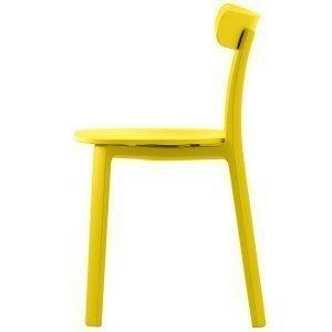 Vitra All Plastic Chair Tuoli Keltainen