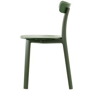 Vitra All Plastic Chair Tuoli Vihreä