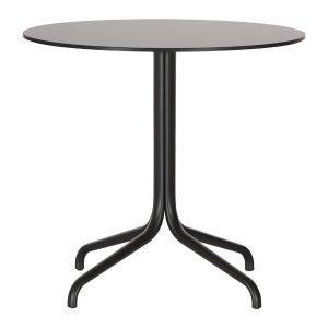 Vitra Belleville Pöytä Pyöreä Musta