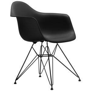 Vitra Eames Dar Tuoli Basic Dark