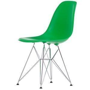 Vitra Eames Dsr Tuoli Classic Green Kromi