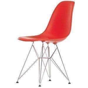 Vitra Eames Dsr Tuoli Classic Red Kromi