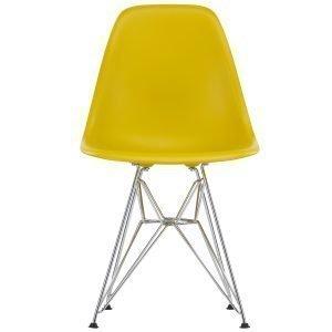Vitra Eames Dsr Tuoli Mustard Kromi