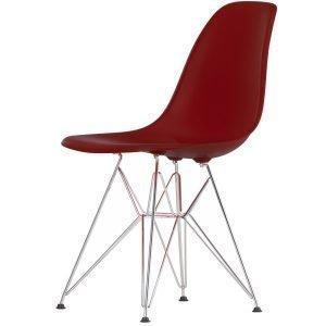 Vitra Eames Dsr Tuoli Oxide Red Kromi